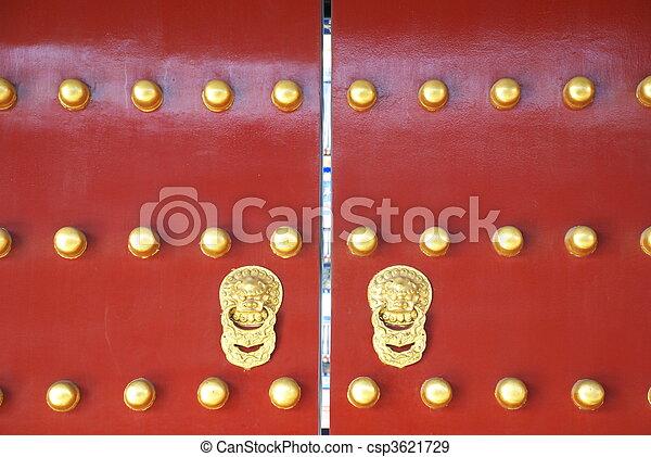 historic Chinese gate - csp3621729