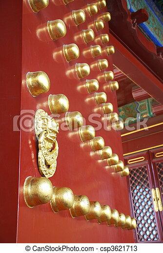 historic Chinese gate - csp3621713