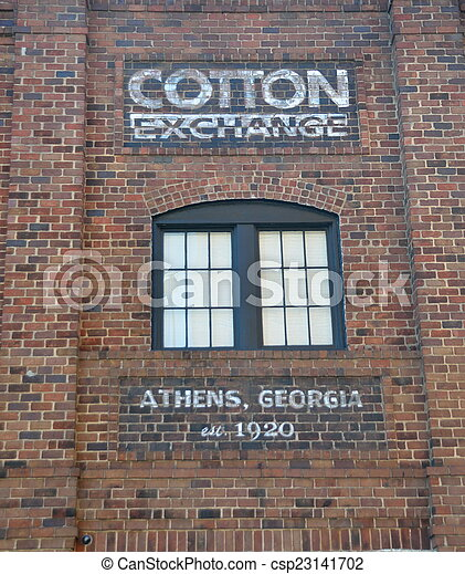 Historic Cotton Exchange Building - csp23141702