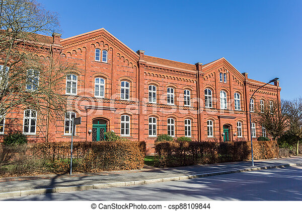Historic courthouse building in the center of Wilhelmshaven - csp88109844