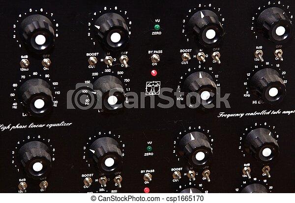 Historic equalizer - csp1665170