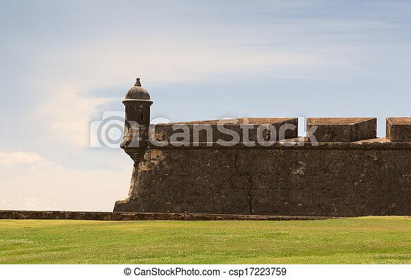 historic fortress - csp17223759