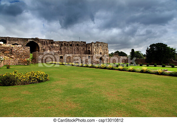 Historic Golkonda - csp13010812