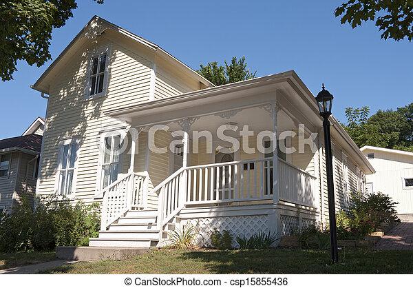 Historic Home of Local Author in Mankato - csp15855436