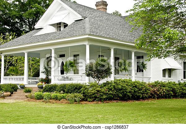 Historic Home - csp1286837