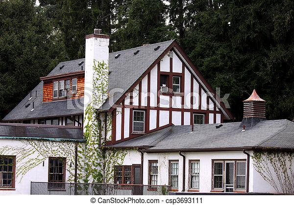Historic home - csp3693111