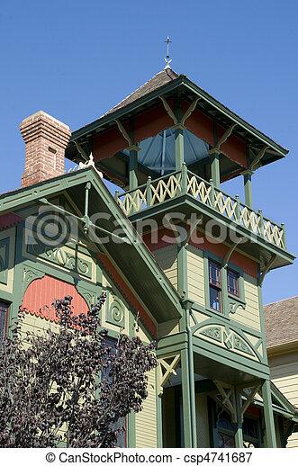 Historic Home - csp4741687