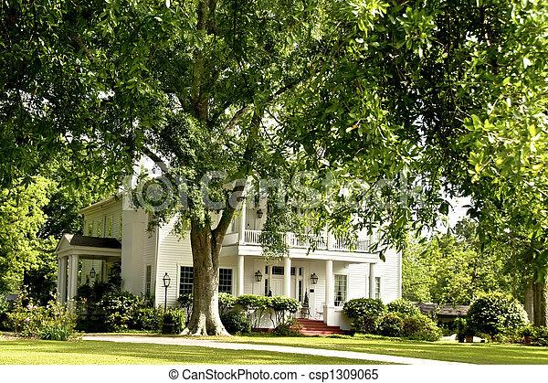 Historic home - csp1309065