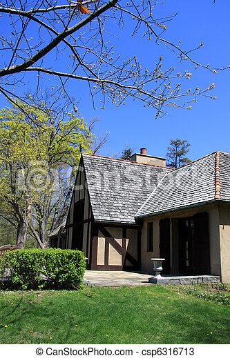 Historic home  - csp6316713