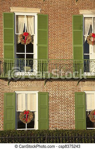 Historic house in Charleston - csp8375243