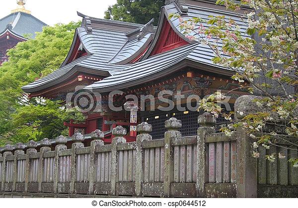 Historic Japanese Temple