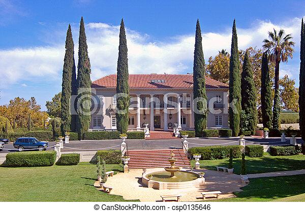 Historic Mansion - csp0135646