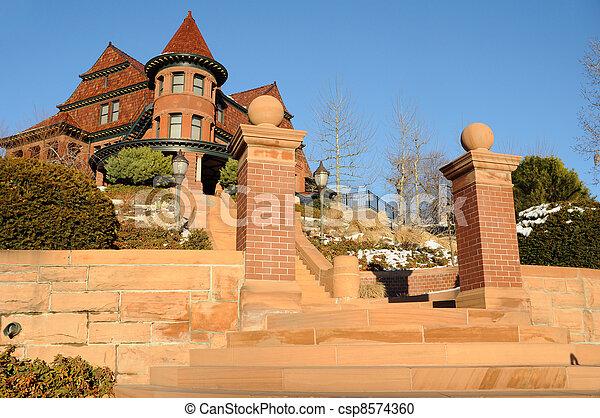 Historic McCune Manison in Salt Lake City, Utah - csp8574360