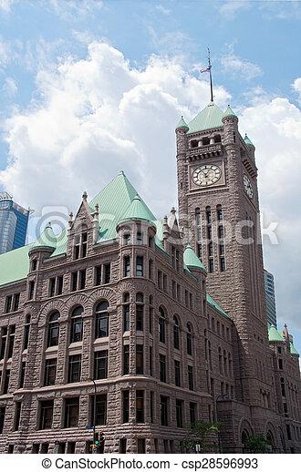 Historic Minneapolis City Hall Corn - csp28596993