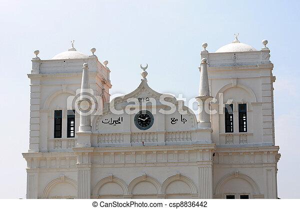 Historic mosque - csp8836442