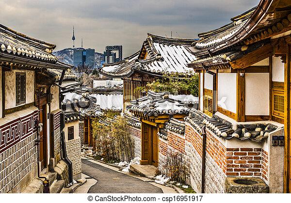 Historic Neighborhood of Seoul - csp16951917