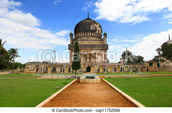 Historic Qutbshahi tomb - csp11752566