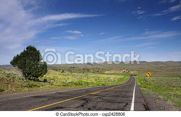 Historic route 66 - csp2428806