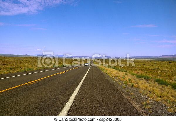 Historic route 66 - csp2428805