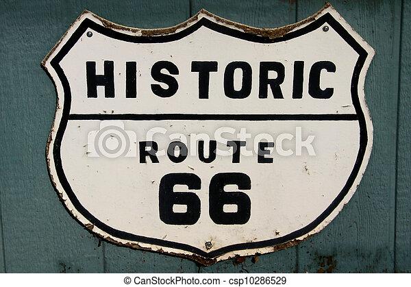 Historic route 66 - csp10286529