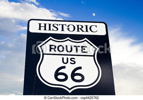 historic route 66 - csp4425762