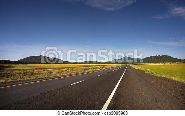 Historic route 66 - csp3095903