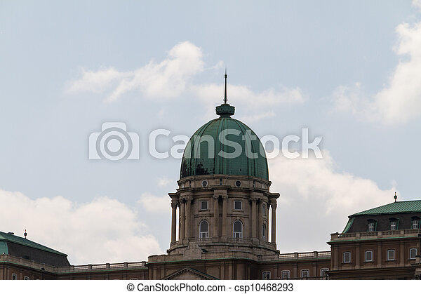 historic Royal Palace in Budapest - csp10468293