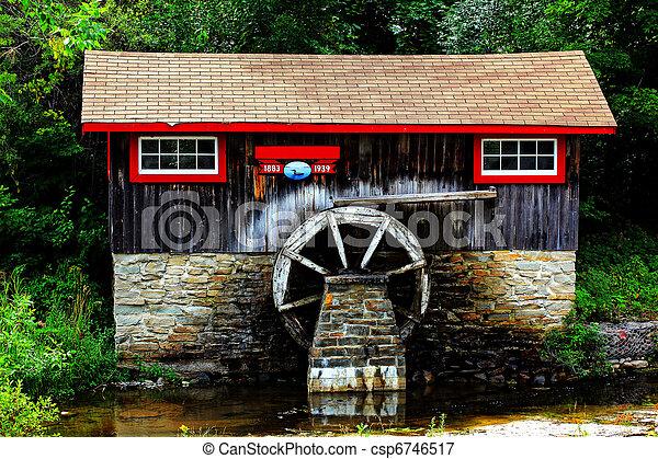 historic sawmill - csp6746517