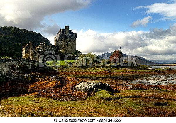 Historic Scotland Castle - csp1345522