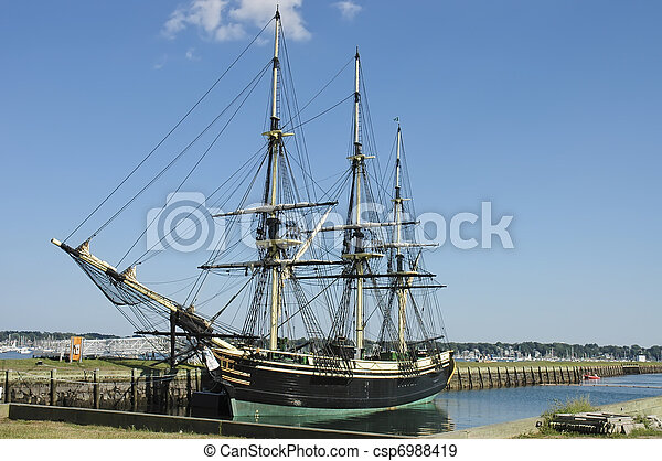 Historic ship - csp6988419