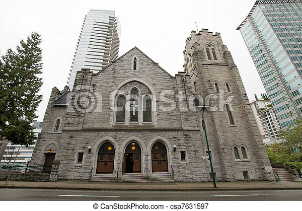 Historic St Andrews Wesley United Church - csp7631597
