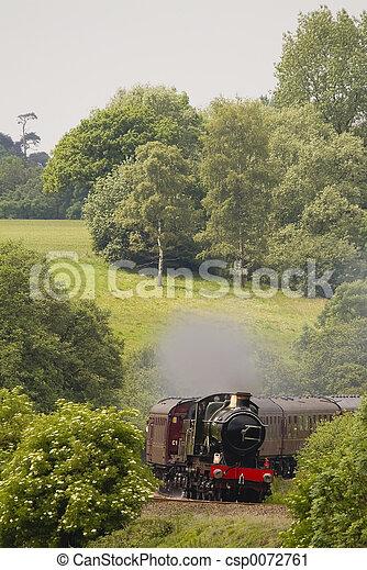 Historic steam locomotive - csp0072761