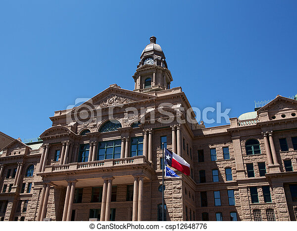 Historic Tarrant County Courthouse - csp12648776