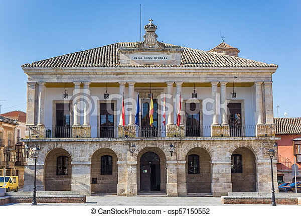 Historic town hall on the main square of Toro - csp57150552