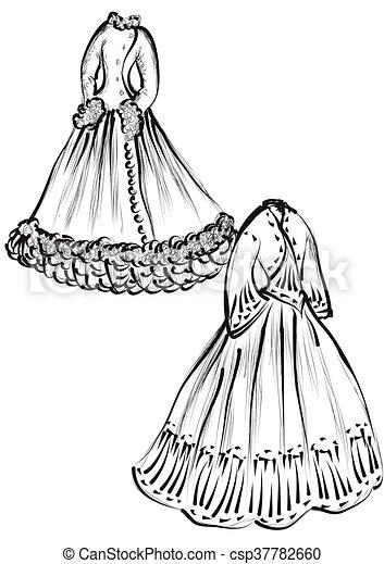 historical clothes - csp37782660