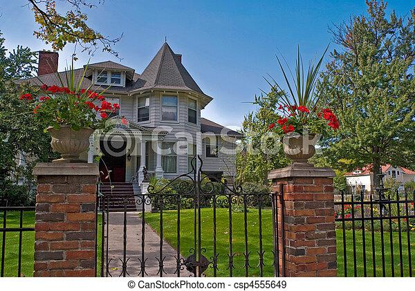 Historical Home - csp4555649
