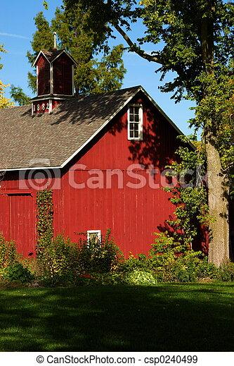 historyczny, stodoła - csp0240499