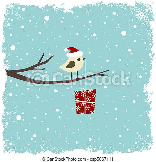 hiver, carte - csp5067111