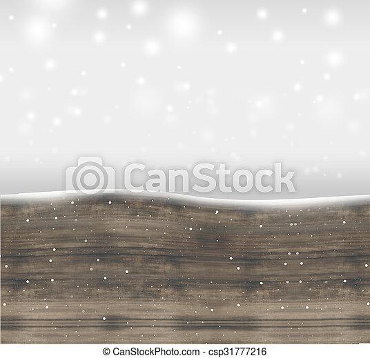 hiver, fond, noël - csp31777216