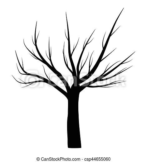 Hiver symbole arbre vecteur nu ic ne design beau - Dessin arbre nu ...