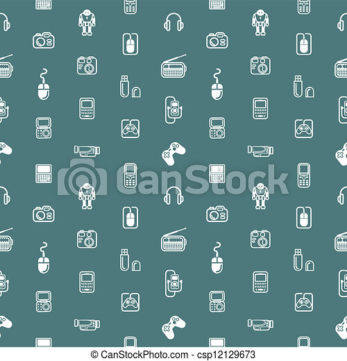 hjälpmedel, bakgrund, seamless, struktur - csp12129673