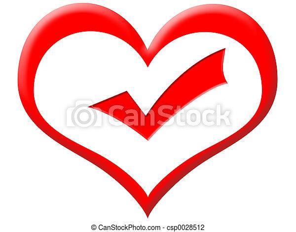 hjärta, bra - csp0028512