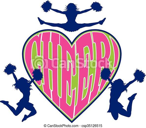 hjärta, bravorop - csp35126515