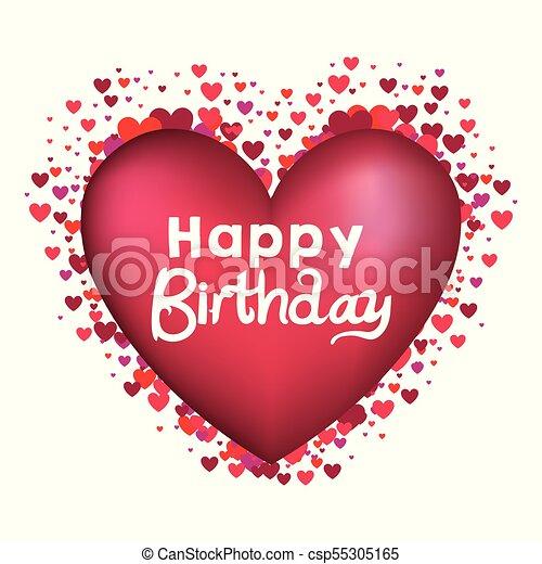grattis på födelsedagen hjärtat
