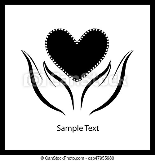 hjärta, hands6 - csp47955980