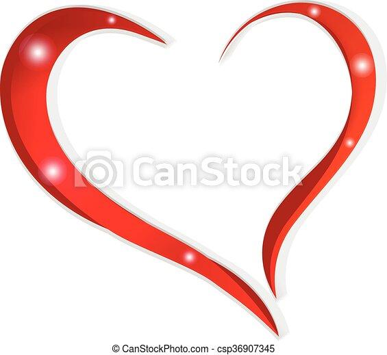 hjärta, kärlek - csp36907345