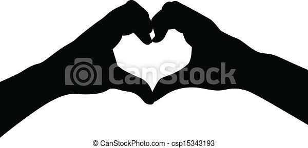 hjärta, kärlek, räcker - csp15343193