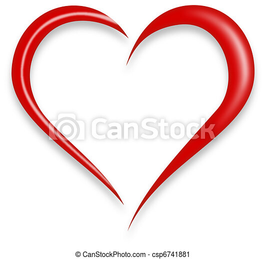 hjärta, kärlek - csp6741881