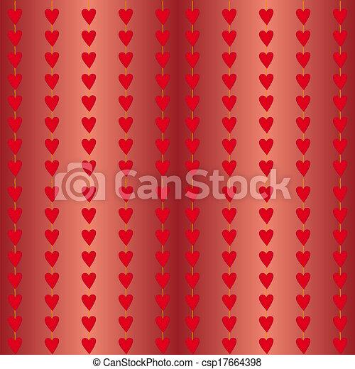 hjärtan, ström - csp17664398