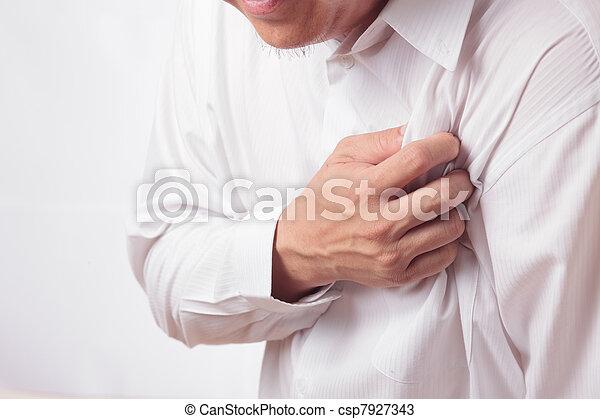 hjärtattack - csp7927343
